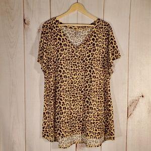 LuLaRoe Carly Leopard Animal Print 3XL